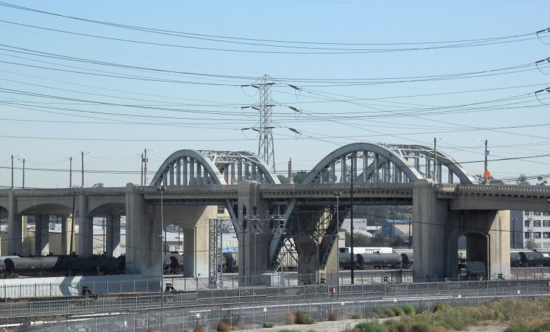 6th Street Bridge - Los Angeles River