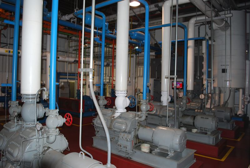 Rancho Cold Storage Engine Room
